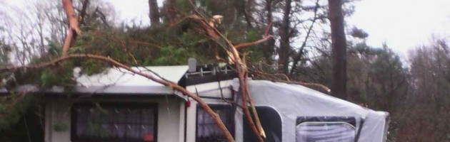 Campingvresicherung, Mobilheim Versicherung, Dauercampingplatz mit Wohnwagen