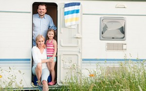 Campingversicherung für Dauercamper
